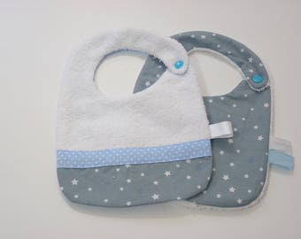 Bibs set newborn-0/6 months