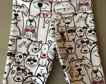 Dogs, dogs, dogs-trousers