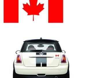 Canada Flag decal