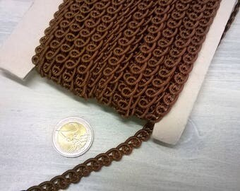 256) braid d ' Brown upholstery, trimmings, roll