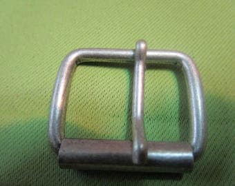 a brushed metal very strong roller buckle
