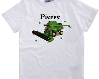 Combine boy personalized with name t-shirt