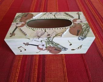 For music lover tissue box