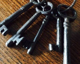Old Set Of Decorative Keys