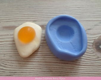 Candy fried egg mold