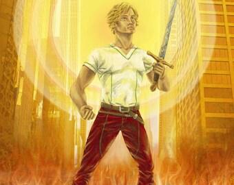 Poster medium // Impression on Paper // Fantasy Heroic Style