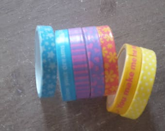 Washi tape X 7scrapbooking