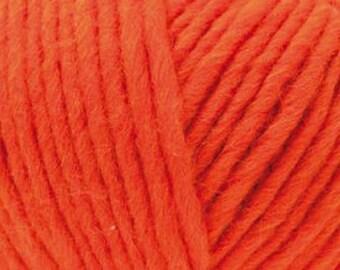 Laine Essentials Super Super Chunky Rico Design - 019 Orange - Pelotes 100 gr. -  Aig. 10