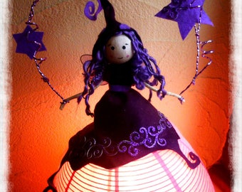 Fairy lamp / poetry/romantic with its fairy