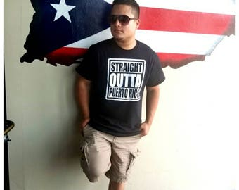 Straight outta Puerto Rico shirt