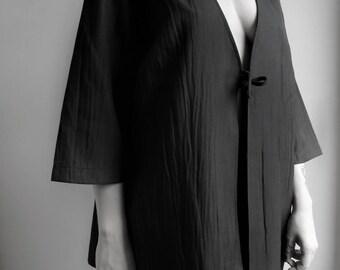 Light-inspired KIMONO jacket. Vintage kimono. Vintage jacket