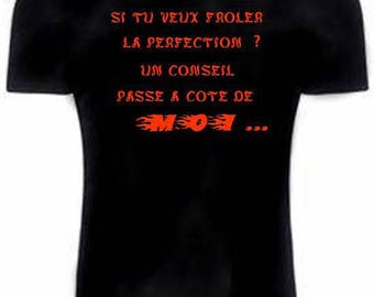 Black text T-shirt original