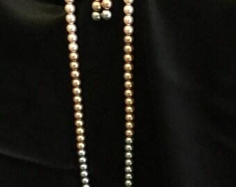Tri colored necklace
