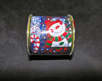 CHRISTMAS: REINFORCED RIBBON 270 X 6.3 CM