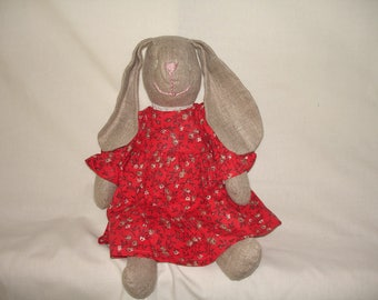 Lady Bunny in red dress