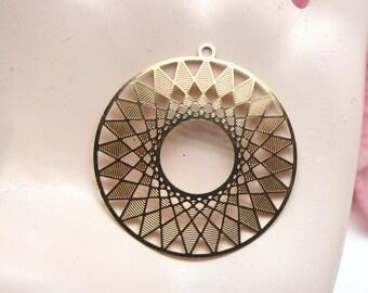 2 pendants prints watermarked Design Rose Gold - 27 mm