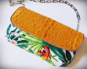 "Handbag ""clutch"", ""Rio"" Crossbody or clutch"