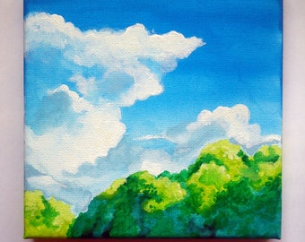 Mini Ghibli Inspired Landscape II