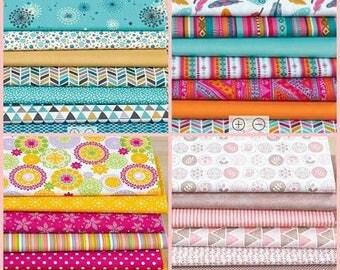 X 28 fabrics patchwork 25 x 30 cm thin and soft