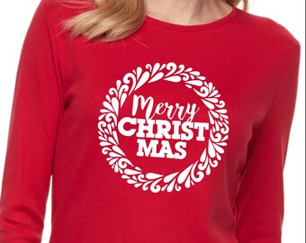 Merry Christ Mas design SVG file