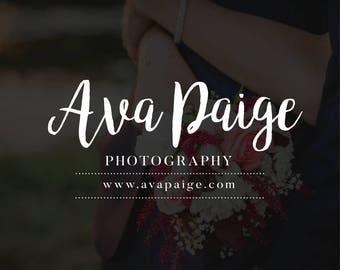 Blog Branding, Blog Logo, Business Branding , Business Logo, Shop Branding, Shop Logo, Elegant Branding, Elegant Logo, Photography Branding