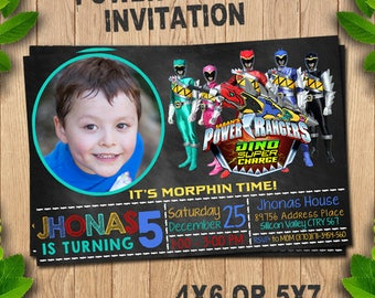 Power rangers birthday, Power rangers invitation, Power rangers party, Power rangers printable, Power rangers invite, Power rangers