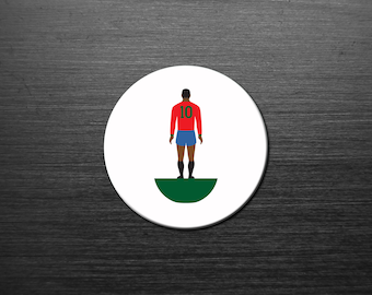 Dream Team 'Legends of the No.10' coaster. PORTUGAL. 4 Pack. Mix n Match