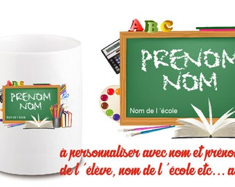MUG UNBREAKABLE SPECIAL SCHOOL CLASS - PERSONALIZE