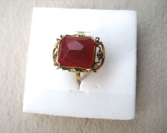 Gold ring with Carnelian CA.1950
