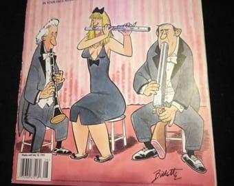 Hustler humor August 95