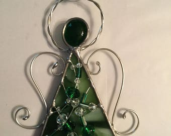 Stained Glass Angel Ornament/Suncatcher