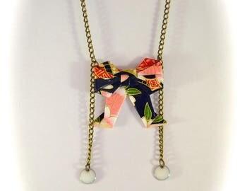 Obi Hamachi region 祇園 Maiko Origami necklace