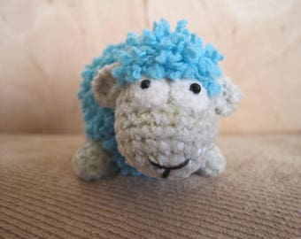 Toy sheep, soft toy, handmade crochet, gift for baby and adult