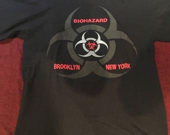 Vintage Biohazard Logo Shirt 96