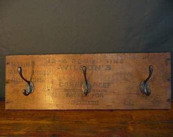 Old Vintage Antique Coat Stand Hanger Hooks