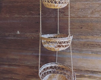 Vintage Hanging Baskets