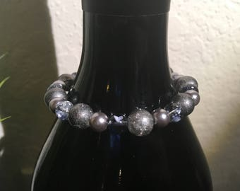 Dove Grey Stretch Bracelet