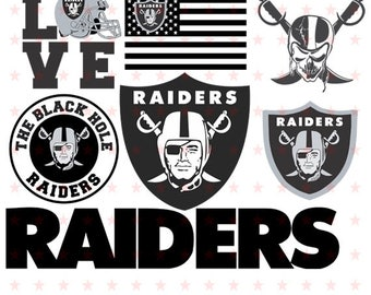 Raiders svg, Raiders svg File, Raiders Cut file, Raiders Clipart, Raiders Silhouette, The Black Hole Raiders svg eps dxf pdf png