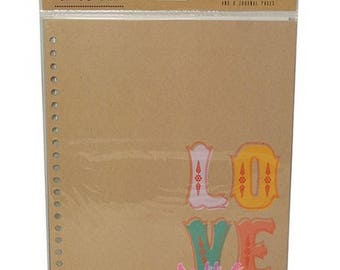 "Printed pages album refills ""La - De - Dah"" way journal diary special scrapbooking (ref.110) *."