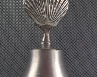 Vintage Woodbury Pewter Bell, Shell