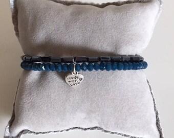 WRAP BRACELETS - Charm bracelet with charm
