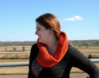 Cosy Cowl - Orange