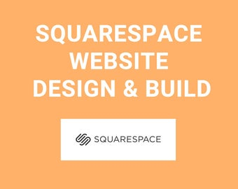 Squarespace website Design & Build