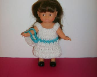 Crochet mini doll set