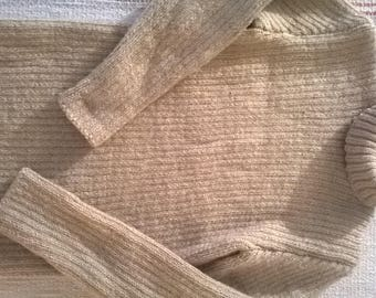 Handmade sweater beige child