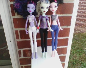 Monster High pants in 3 Solid Color