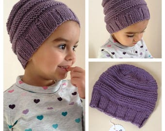 Knitted Merino Wool Cap