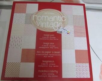 Romantic Vintage paper
