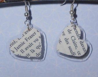 Claire & Jamie Fraser Outlander earrings