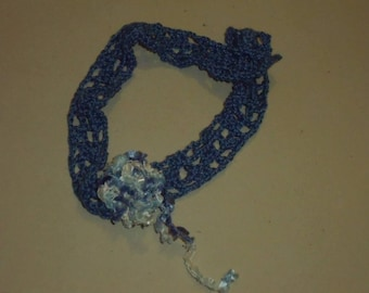 Blue wire Choker